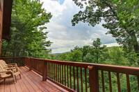 DECK at COUNTRY CHARM in Sevier County TN