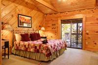 BEDROOM at HAZY DAYS in Sevier County TN