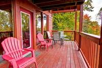 DECK at TOP NOTCH in Sevier County TN