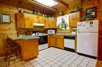 KITCHEN at MOUNTAIN MISCHIEF in Sevier County TN
