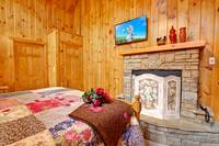 BEDROOM 1 at WHISPERING WINDS in Sevier County TN