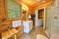 BATHROOM 1 at XPERFECT POINTE OF VIEW in Sevier County TN
