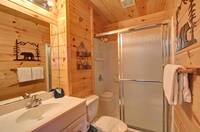 BATHROOM 2 at XPERFECT POINTE OF VIEW in Sevier County TN