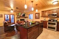 KITCHEN at MOUNTAIN MAJESTY in Sevier County TN