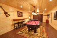 POOL TABLE at MOUNTAIN MAJESTY in Sevier County TN