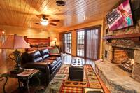 MASTER BEDROOM at MOUNTAIN MAJESTY in Sevier County TN