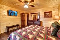 BEDROOM 2 at MOUNTAIN MAJESTY in Sevier County TN