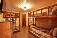 BUNK BED ROOM at MOUNTAIN MAJESTY in Sevier County TN