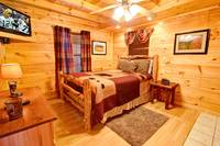 BEDROOM 1 at UP A CREEK in Sevier County TN