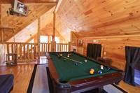 POOL TABLE at UP A CREEK in Sevier County TN