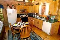 KITCHEN at AUTUMN BREEZE in Sevier County TN
