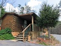 EXTERIOR 2 at XANGELS HIDEOUT in Sevier County TN