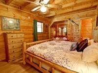 BEDROOM at ASLEEP BY THE CREEK in Sevier County TN