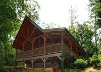 EXTERIOR at ASLEEP BY THE CREEK in Sevier County TN