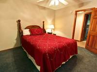 BEDROOM 1 (MAIN LEVEL) at XHEART'S DESIRE in Sevier County TN