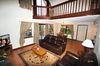 LIVING AREA at XHEART'S DESIRE in Sevier County TN