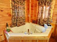 JACUZZI (BEDROOM 1) at HIGH NOON in Sevier County TN