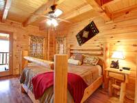 BEDROOM 1 at HIGH NOON in Sevier County TN