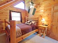 BEDROOM 2 at HIGH NOON in Sevier County TN