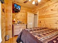 BEDROOM 2 at OVER THE HILL in Sevier County TN