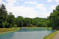 POND at BEAR MOUNTAIN LODGE in Sevier County TN
