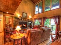 LIVING AREA at IT'S A WONDERFUL LIFE in Sevier County TN