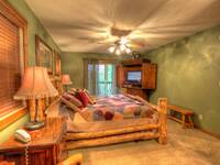 BEDROOM 1 at IT'S A WONDERFUL LIFE in Sevier County TN