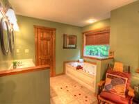 BATHROOM 1 W/ JACUZZI TUB at IT'S A WONDERFUL LIFE in Sevier County TN