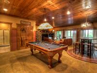 POOL TABLE at IT'S A WONDERFUL LIFE in Sevier County TN