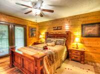 BEDROOM  at MOUNTAIN HOPE in Pigeon Forge TN