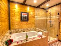 BATHROOM at MOUNTAIN HOPE in Pigeon Forge TN