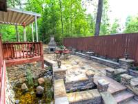 OUTDOOR PATIO at MOUNTAIN HOPE in Pigeon Forge TN