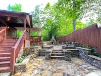 DECK & PATIO at MOUNTAIN HOPE in Pigeon Forge TN