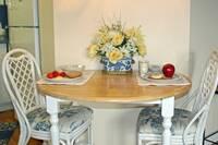DINING TABLE at ALTITUDE ADJUSTMENT in Gatlinburg TN