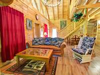 LIVING AREA at A PLAYERS PARADISE in Sevier County TN