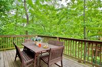 OUTDOOR DINING at WINTER HAVEN in Sevier County TN