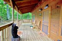 DECK at WINTER HAVEN in Sevier County TN