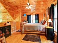 BEDROOM 2 (LOFT) at APPLESEED in Sevier County TN