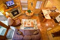 MAIN LEVEL at BEAR TOP HIDEAWAY in Pigeon Forge TN