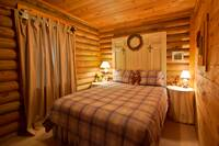 BEDROOM 1 at AT WITTS INN in Sevier County TN