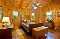 BEDROOM 2 at HEMLOCK HIDEAWAY in Sevier County TN