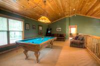 GAME ROOM (LOFT) at BEDFORD FALLS in Sevier County TN