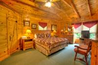 BEDROOM (LOFT) at UNFORGETTABLE in Sevier County TN