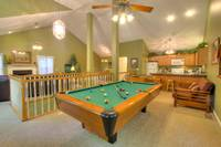 POOL TABLE at XDANCES WITH BEARS in Sevier County TN