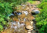 CREEK NEARBY at STORYBOOK ROMANCE in Gatlinburg TN