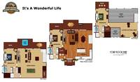 UNIT LAYOUT at IT'S A WONDERFUL LIFE in Sevier County TN