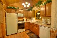 KITCHEN at SWEET SECLUSION in Pigeon Forge TN