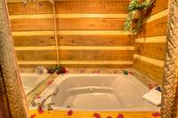 JACUZZI at SWEET SECLUSION in Pigeon Forge TN