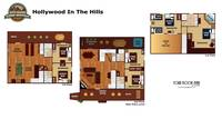 UNIT LAYOUT at HOLLYWOOD IN THE HILLS in Pigeon Forge TN