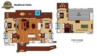 UNIT LAYOUT at BEDFORD FALLS in Sevier County TN